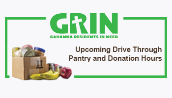 GRIN Pantry and Donation Hours
