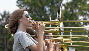 GLHS Band Marches to a Variety of Music