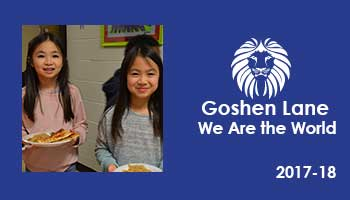 Goshen Lane Elementary: We Are the World