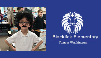 Famous Wax Museum at Blacklick Elementary