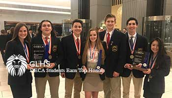 GLHS DECA Students Earn Top Honors