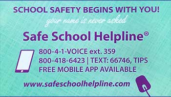 Safe School Helpline is Taking Steps to Break the Silence