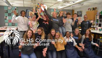 GLHS Community Art Class Receives Grant