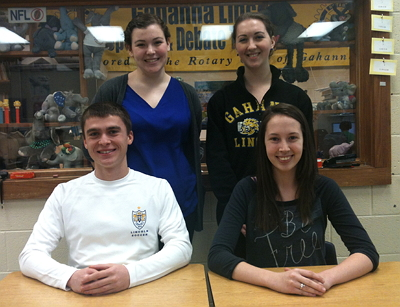 2012-13 GLHS Speech Debate Officers