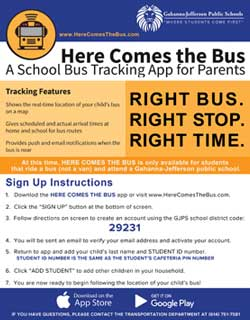 Image for Here Comes the Bus Flyer