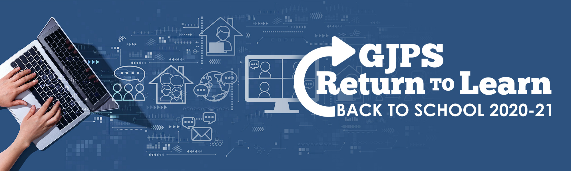 Return to Learn Back to School Banner