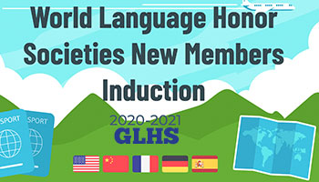 GLHS World Language Honor Society Induction